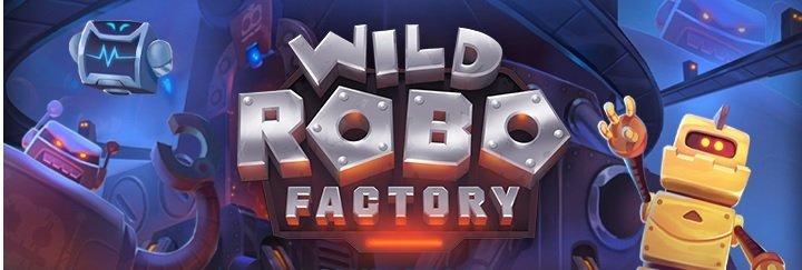wild robo factory spelautomat