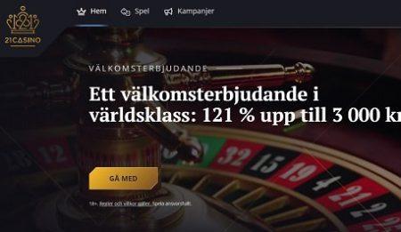 21 casino hemsida