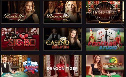 21 live casino