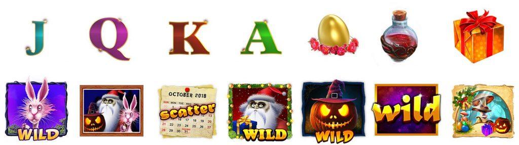 Season Greetings symboler