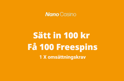 Nanocasino bonus