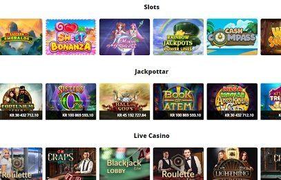 nano casino kategorier
