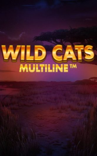 Wild Cats Multiline slot recension