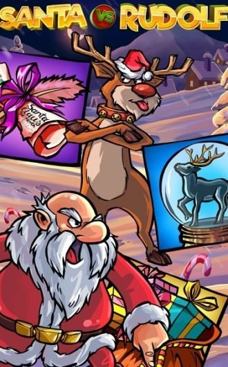 Santa Vs Rudolf slot recension