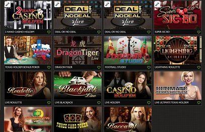 GDay live-casino