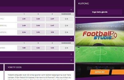 YoBetIt odds & live-betting