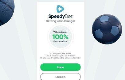 Snabb registrering hos Speedybet