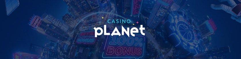 Casino Planet banner