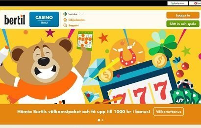 Bertil casino bonus