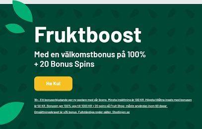 FruityCasa casino bonus