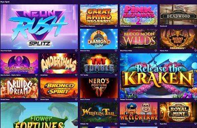 LiveLounge casino spelautomater