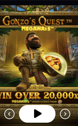 Gonzos Quest Megaways slot recension