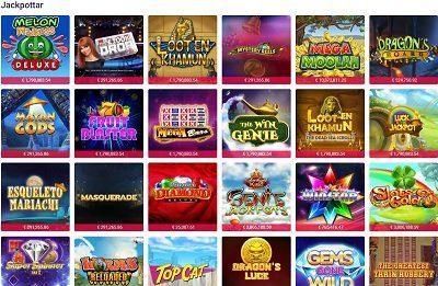 Party casino jackpottar