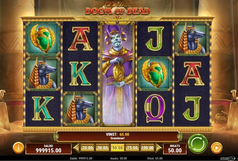Cat Wilde and the Doom of Dead slot recension