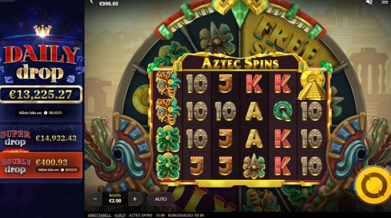 Aztec Spins slot recension