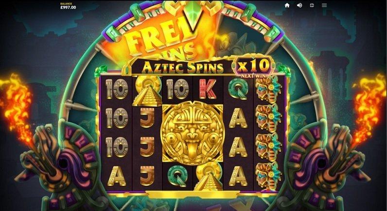 Aztec Spins spelautomat lyckohjul