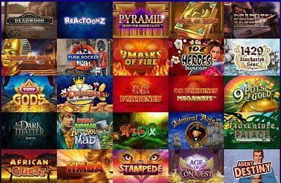 Race casino spelutbud