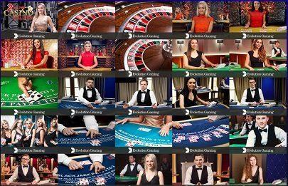 Livecasino hos Race casino