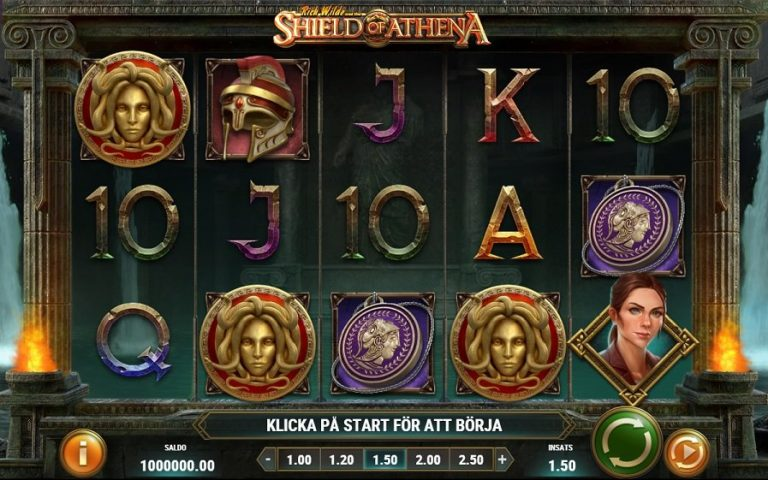 Rich Wilde & The Shield of Athena slot recension