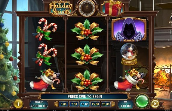 Holiday Spirits slot recension