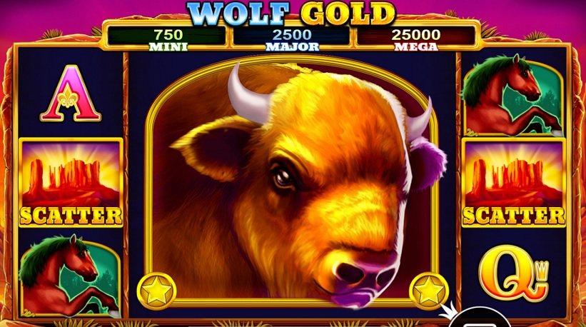 Wolf Gold slot freespins