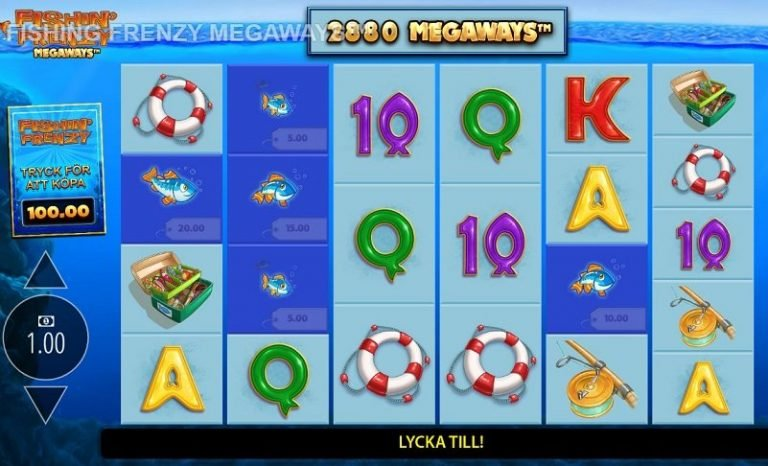 Fishin Frenzy Megaways slot recension