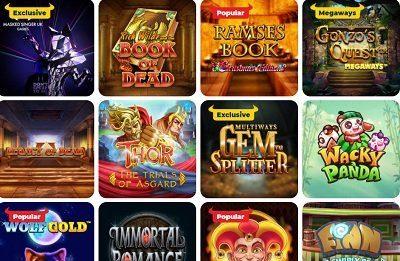 PlayToro casino spelutbud