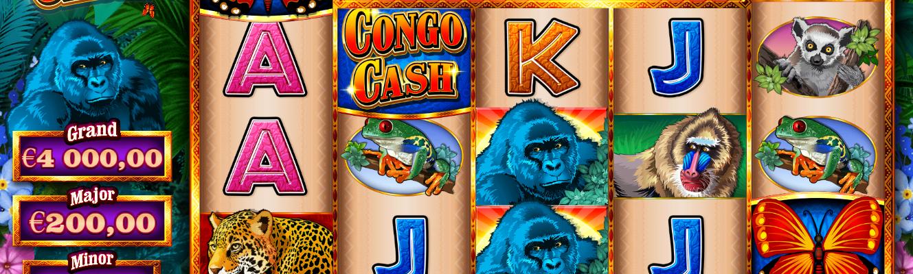 Congo Cash slot recension