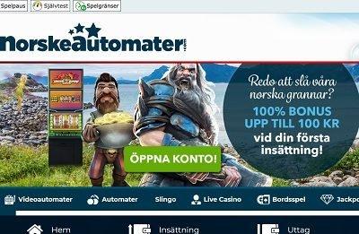 norskeautomater välkomstbonus