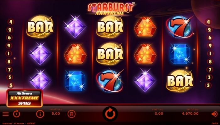 Starburst-XXXtreme slot recension