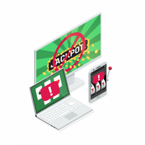 Blocka sig på casino online