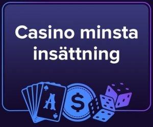 casino med låg insättning